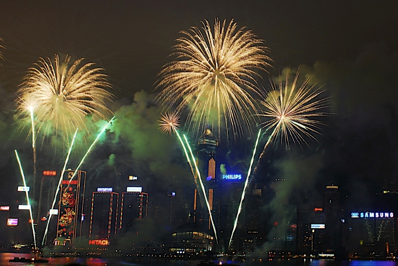 New Year's Fireworks from China