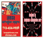 Leesa's Business Card