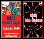 Leesa's Business Card